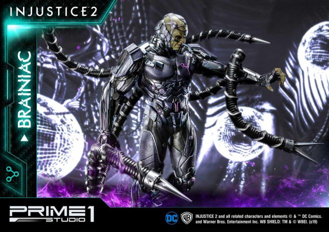 Prime 1 Studio - Injustice 2 - Brainiac - 36