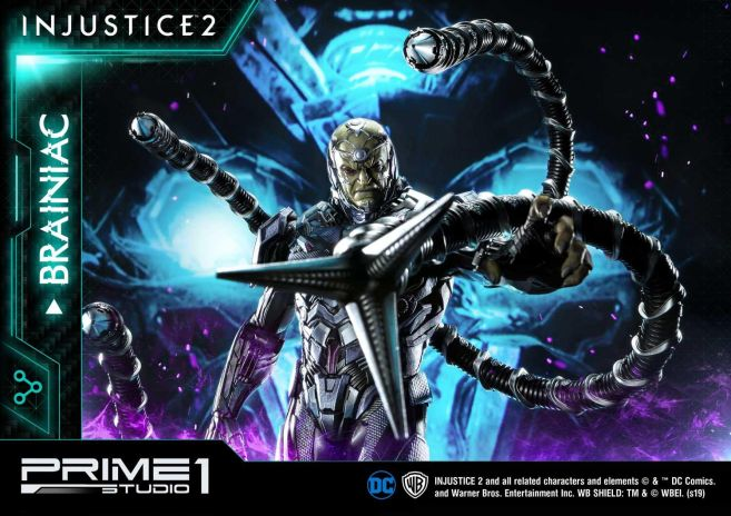 Prime 1 Studio - Injustice 2 - Brainiac - 42
