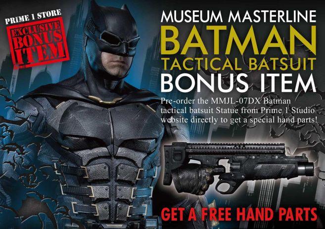 Prime 1 Studio - Justice League - Batman Tactical Batsuit - 01