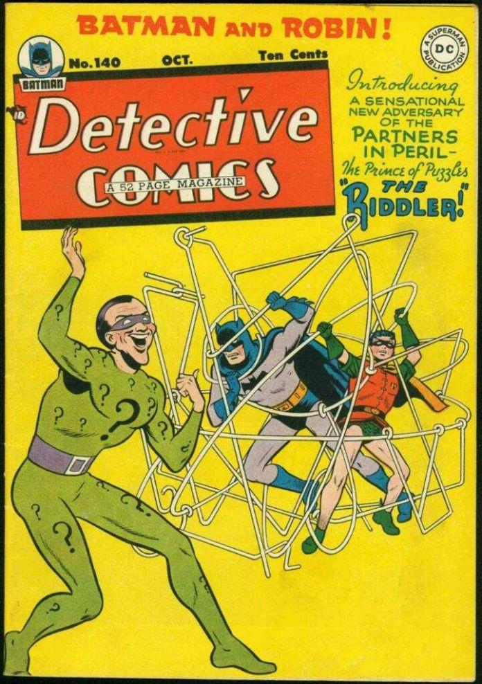 Detective Comics 140 - Best Riddler Stories