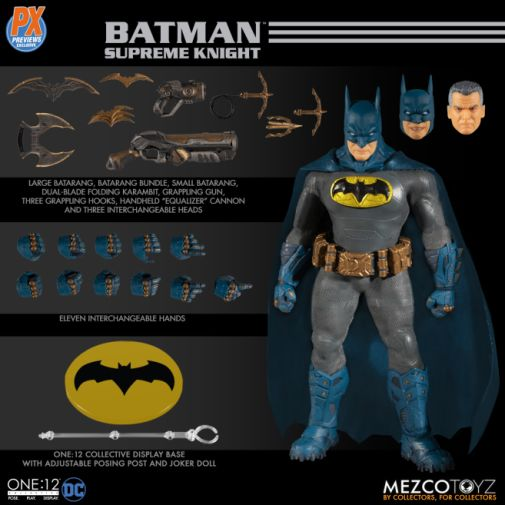 Mezco Toyz - Batman Supreme Knight - Previews Exclusive - 11