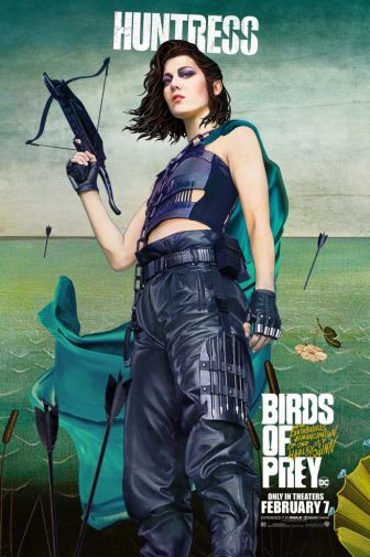 Birds of Prey - Official Images - Character Posters - Huntress - 01