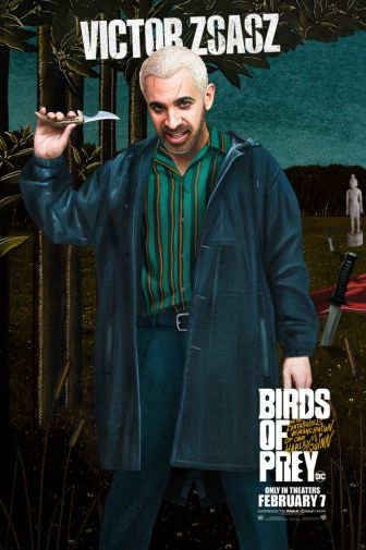Birds of Prey - Official Images - Character Posters - Victor Zsasz - 01