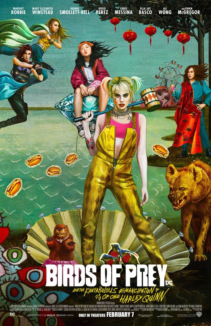 Birds of Prey - Official Images - Movie Poster 3 - 01