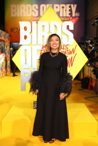 Cathy Yan attends the world premiere for Birds of Prey (and The Fantabulous Emancipation of One Harley Quinn) in cinemas February 7th. (Photo by Tim P. Whitby)