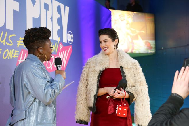 Mary Elizabeth Winstead attends the world premiere for Birds of Prey (and The Fantabulous Emancipation of One Harley Quinn) in cinemas February 7th.