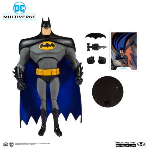McFarlane Toys - DC Multiverse - Batman - Batman the Animated Series - Batman Action Figure - 05
