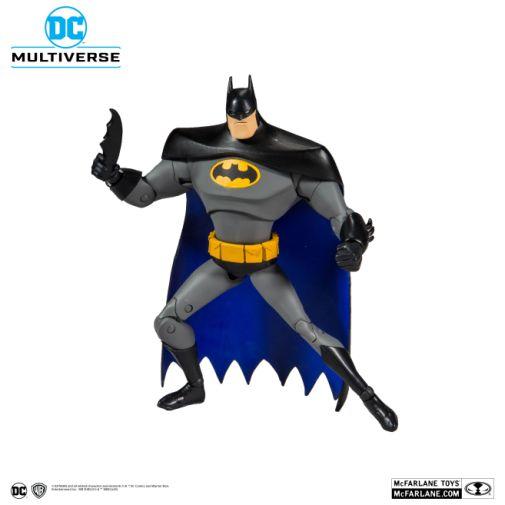 McFarlane Toys - DC Multiverse - Batman - Batman the Animated Series - Batman Action Figure - 08