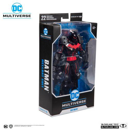 McFarlane Toys - DC Multiverse - Batman - Hellbat Suit Action Figure - 07