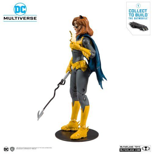 McFarlane Toys - DC Multiverse - Batmobile Build-a-Figure - Batgirl Action Figure - 02