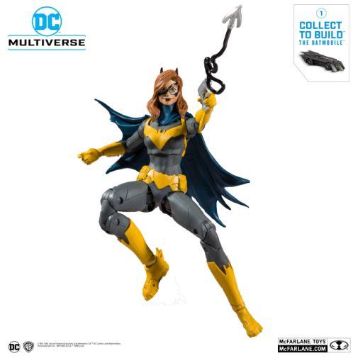 McFarlane Toys - DC Multiverse - Batmobile Build-a-Figure - Batgirl Action Figure - 08