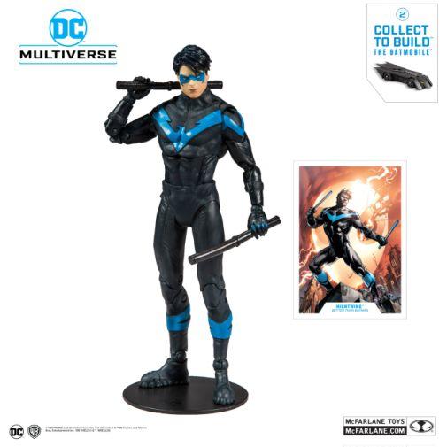 McFarlane Toys - DC Multiverse - Batmobile Build-a-Figure - Nightwing Action Figure - 01