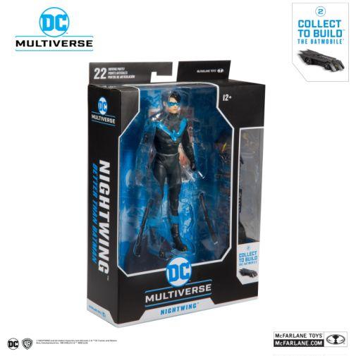 McFarlane Toys - DC Multiverse - Batmobile Build-a-Figure - Nightwing Action Figure - 07