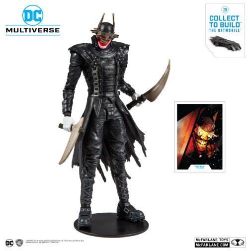 McFarlane Toys - DC Multiverse - Batmobile Build-a-Figure - The Batman Who Laughs Action Figure - 01