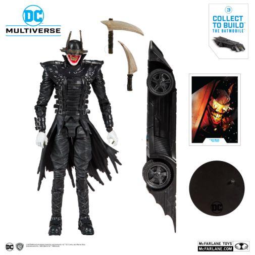 McFarlane Toys - DC Multiverse - Batmobile Build-a-Figure - The Batman Who Laughs Action Figure - 05