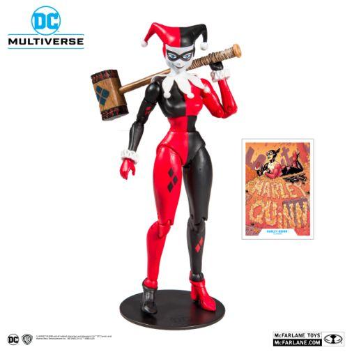 McFarlane Toys - DC Multiverse - Harley Quinn - Batman the Animated Series - Harley Quinn Action Figure - 01