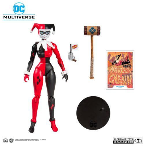 McFarlane Toys - DC Multiverse - Harley Quinn - Batman the Animated Series - Harley Quinn Action Figure - 05