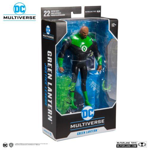 McFarlane Toys - DC Multiverse - Justice League - John Stewart Green Lantern Action Figure - 07