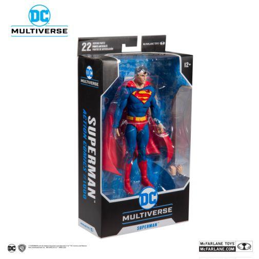 McFarlane Toys - DC Multiverse - Superman - Action Comics 1000 - Superman Action Figure - 07