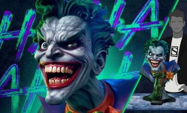 Sideshow - DC - Joker Life Size Bust - 24