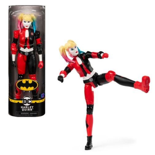 Spin Master - DC - 12-inch - Harley Quinn Action Figure - 01