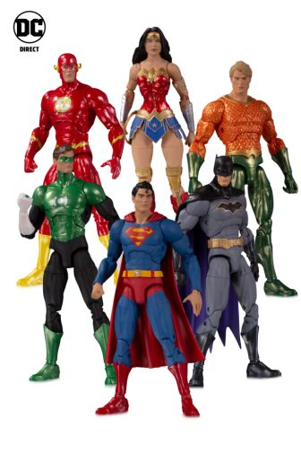 DC Collectibles - Toy Fair 2020 - Official Images - DC_Essentials - Justice League 6 Pack - 01