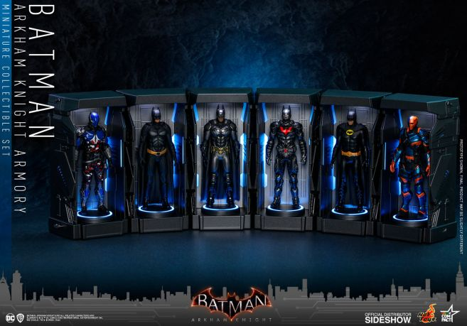 Hot Toys - Batman - Arkham Knight Armory - 01