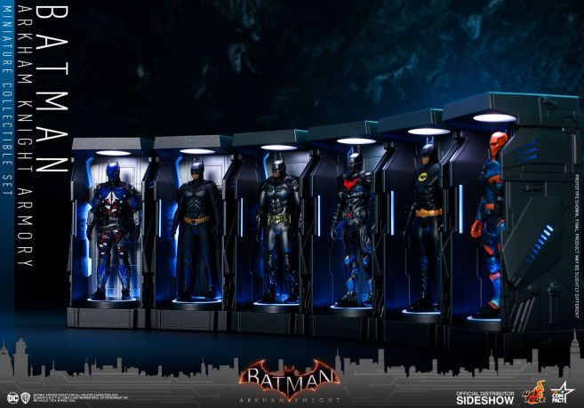 Hot Toys - Batman - Arkham Knight Armory - 02