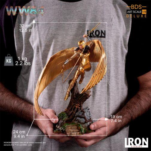 Iron Studios - DC Comics - Wonder Woman 1984 - Golden Armor - 13