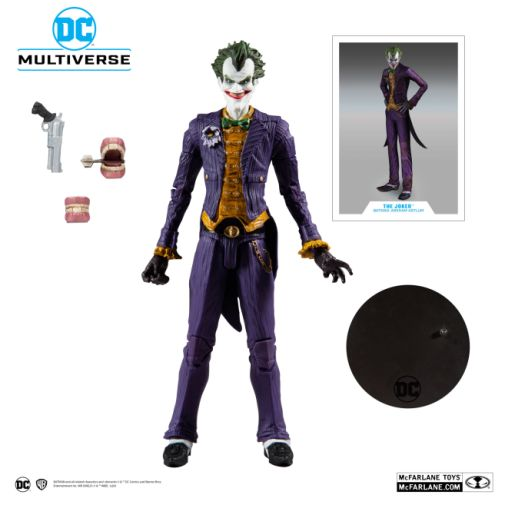 McFarlane Toys - DC Multiverse - Batman Arkham Asylum - Joker - 09