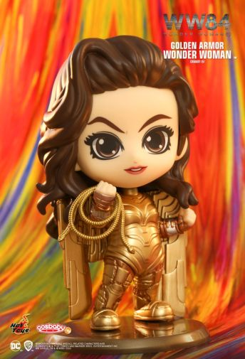 Hot Toys - Wonder Woman 1984 - Cosbaby - Golden Armor - 03