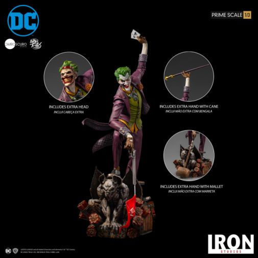 Iron Studios - The Joker - 1-3 Scale - 26