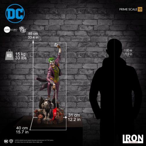 Iron Studios - The Joker - 1-3 Scale - 27