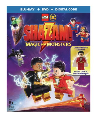 LEGO - Shazam Magic and Monsters - Covers - 03