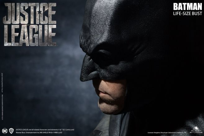 Queen Studios - Justice League - Batman - Life-Size Bust - 10