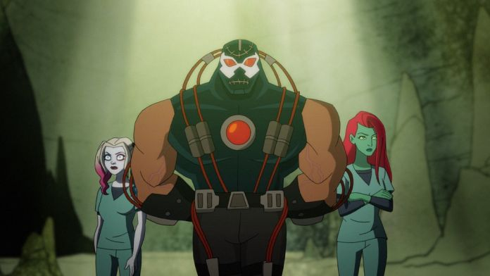 Harley Quinn 2x06 - Warden Bane, inmates Poison Ivy and Harley Quinn