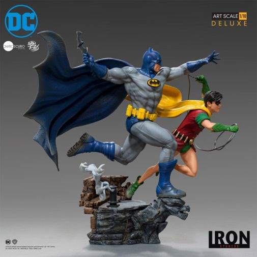 Iron Studios - Batman - Batman and Robin Diorama - 06