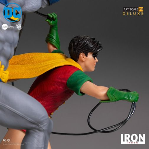 Iron Studios - Batman - Batman and Robin Diorama - 14
