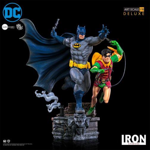 Iron Studios - Batman - Batman and Robin Diorama - 15