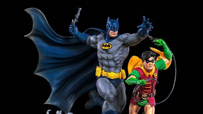 Iron Studios - Batman - Batman and Robin Diorama - BMN - Featured - 01