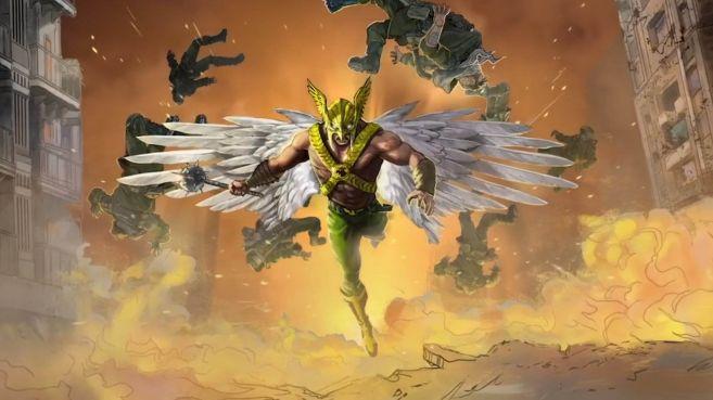 Black Adam - Concept Artwork - Hawkman - 01