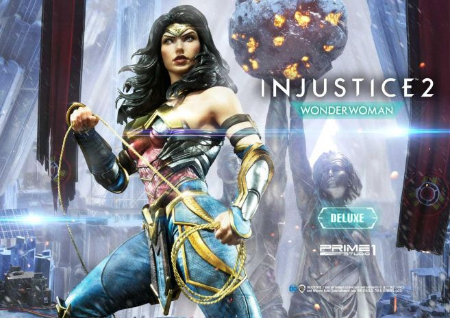 Prime 1 Studio - Injustice 2 - Wonder Woman - Deluxe - 01