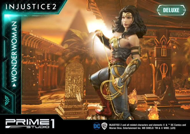 Prime 1 Studio - Injustice 2 - Wonder Woman - Deluxe - 10