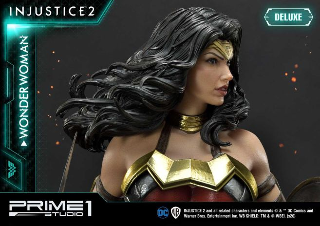 Prime 1 Studio - Injustice 2 - Wonder Woman - Deluxe - 23