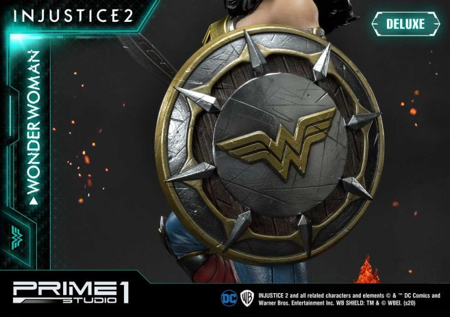 Prime 1 Studio - Injustice 2 - Wonder Woman - Deluxe - 28