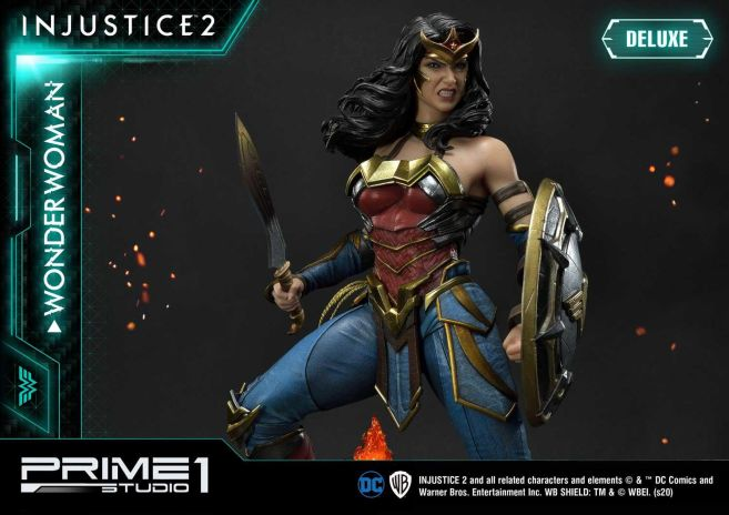 Prime 1 Studio - Injustice 2 - Wonder Woman - Deluxe - 30