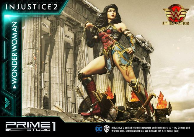 Prime 1 Studio - Injustice 2 - Wonder Woman - Limited - 03