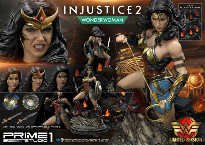 Prime 1 Studio - Injustice 2 - Wonder Woman - Limited - 22