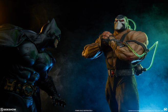 Sideshow - DC - Bane Maquette - 14