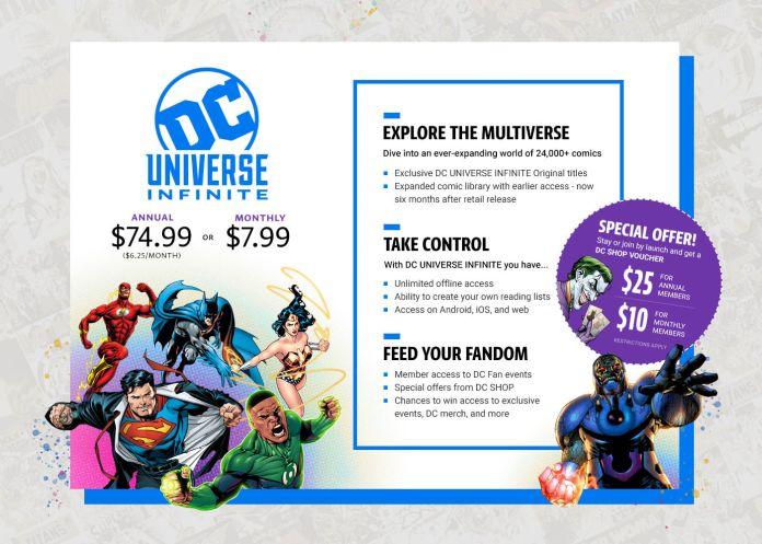 DC Universe Infinite - Launch Voucher